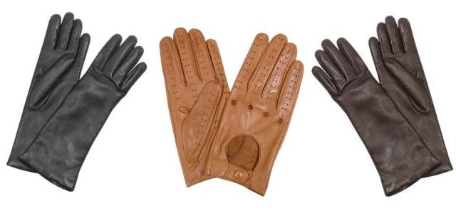 Elegantní dámské kožené rukavice pro mrazivé dny — LUXURYMAG a7f570f377