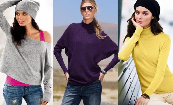 Pro teplejší podzim / Trendy svetříky 2009 (http://www.luxurymag.cz)