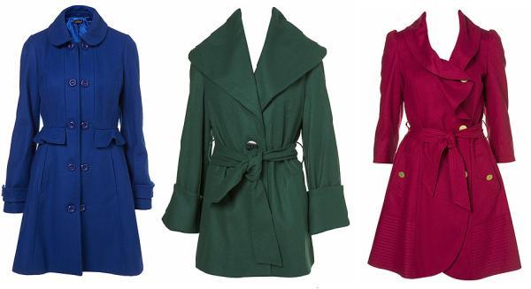 Kabátky podle značek / Topshop, H&M, Mango (http://www.luxurymag.cz)
