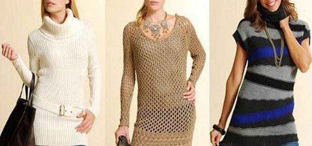 4aae3c5cb890 Absolutní hit letošního podzimu a zimy - Pletené šaty — LUXURYMAG