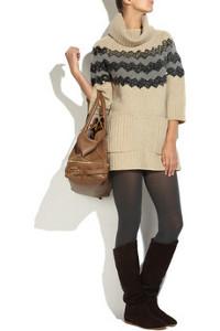 ... letošního podzimu a zimy - Pletené šaty (http://www.luxurymag.cz