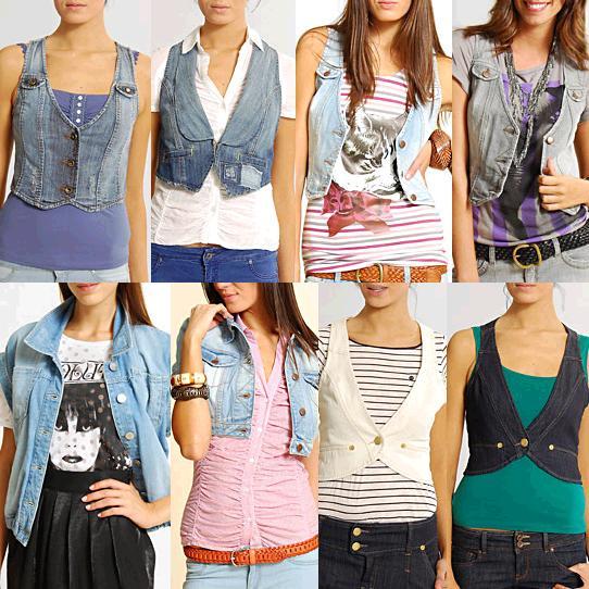 Džínový doplněk k Vašemu outfitu? Jednoznačně džínová vesta! (http://www.luxurymag.cz)