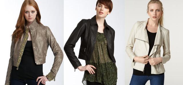 Sebevědomý styl oblečení  Kožené bundičky vedou! — LUXURYMAG 3ca5f1c83d