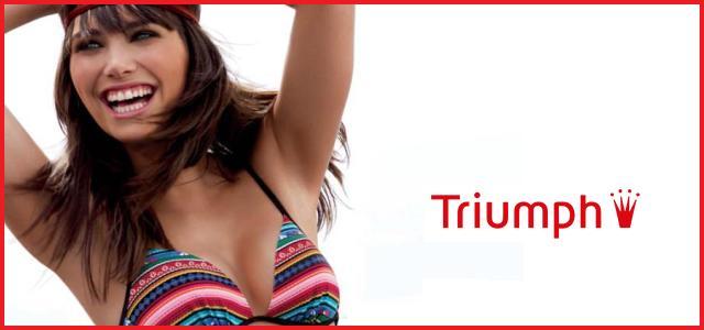 b8433034f Triumfální plavky Triumph pro léto 2010 — LUXURYMAG