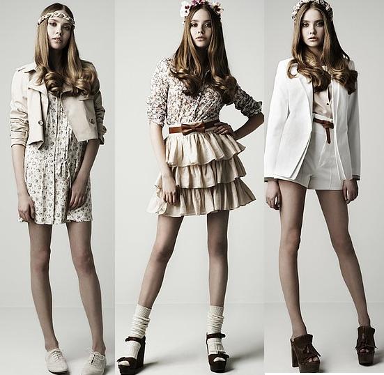 92d1c1db238 Dámská kolekce Zara jaro léto 2010 (http   www.luxurymag.
