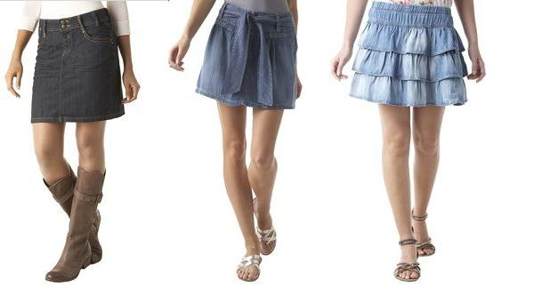 Riflové sukně - stálice ve vašem letním šatníku (http://www.luxurymag.cz)