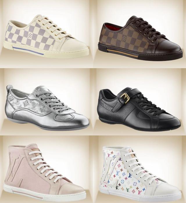 Boty Louis Vuitton v roce 2010 – podpatky i tenisky — LUXURYMAG 4dd6597335a