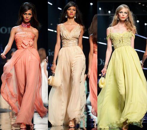 Luxusní šaty předních módních domů Dior, Versace, Chanel a Gucci (http://www.luxurymag.cz)