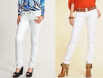 Bílé džíny – nepraktický, zato úžasný trend! (http://www ...