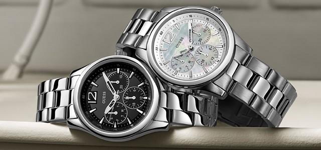 Neobyčejně atraktivní - Pánské a dámské hodinky Guess — LUXURYMAG deb6fb56c82