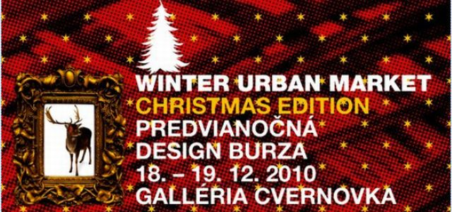 Winter Urban Market (Christmas Edition) / Predvianočná design burza