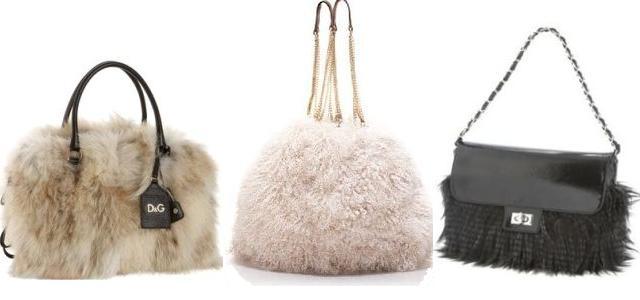 Originální a sexy chlupaté kabelky