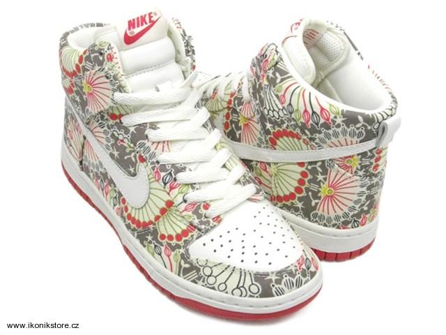 Decentní tenisky z kolekce Nike x Liberty dorazily už i k nám (http://www.luxurymag.cz)