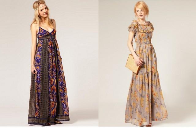 Maxi šaty léto 2011 (http://www.luxurymag.cz)