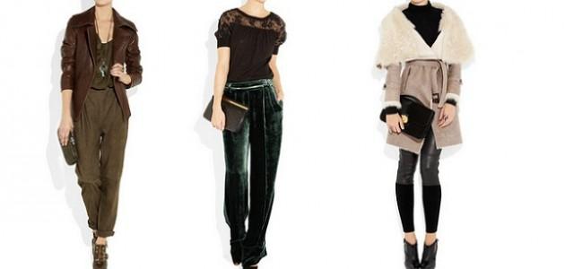 Dámské kalhoty zima 2011 2012 aneb slim-fit není jediná volba ... 1f39639760
