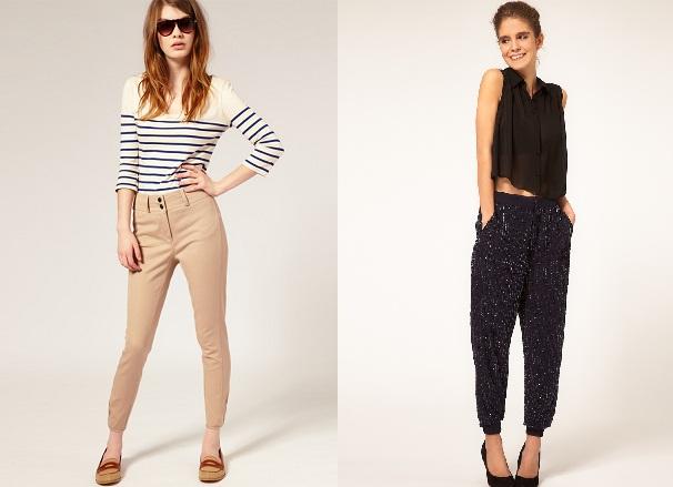 Dámské kalhoty zima 2011 2012 aneb slim-fit není jediná volba (http  fc3ed99ab2
