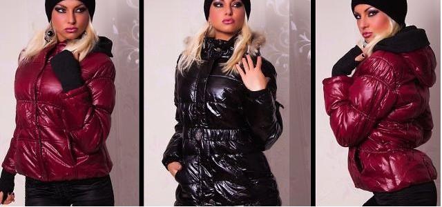 Dámské lesklé zimní bundy 2012 — LUXURYMAG 04263d6999