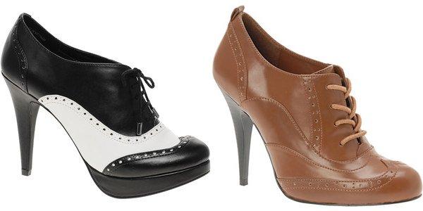 Oxfordky na podpatku. Elegantní a stylové ... a07582041e
