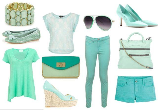 Fashion trends: Máte už něco v mint barvě? — LUXURYMAG