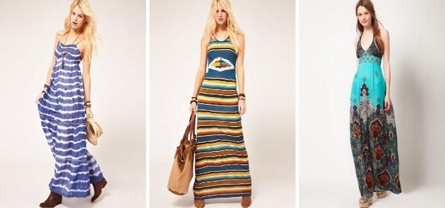 Dlouhé a maxi šaty jaro léto 2012 — LUXURYMAG 0a9b8056c84
