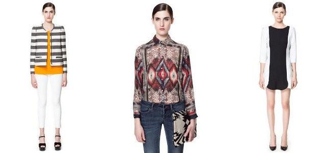 01ccfd0e4ded Zara kolekce jaro léto 2013 — LUXURYMAG