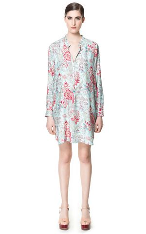 Trendy šaty jaro 2013 od Reserved, Orsay, Zara a Bershka (http://www ...