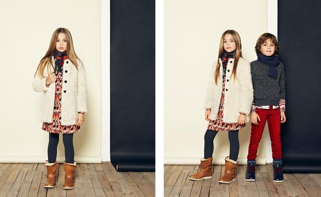 Fashion is also here for children!  - Mango kids Christmas 2013 (http://www.luxurymag.cz)