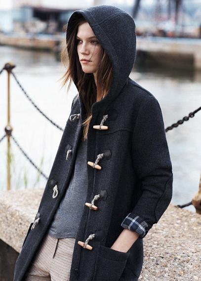 Fashion trend: long winter coats (http://www.luxurymag.cz)