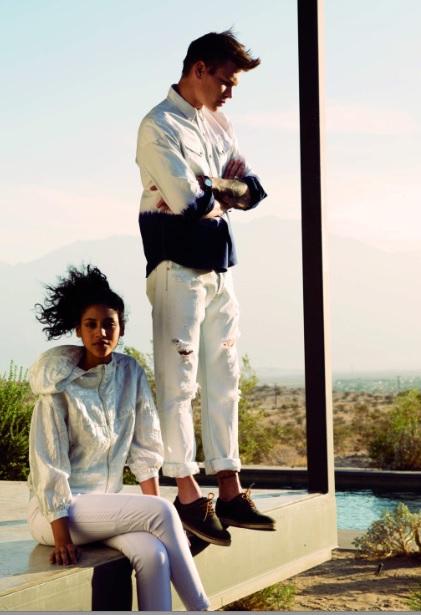 La costa de California cobra vida en la colección de primavera de Levi's (http://www.luxurymag.cz)