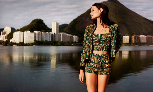 Bershka presents its Meet Me in Rio campaign for spring / summer 2014!  (http://www.luxurymag.cz)