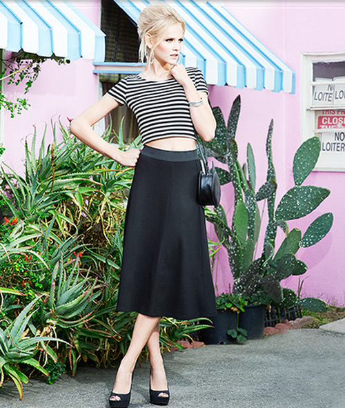 50th Gold in the H&M Divided Black Glamor Inn 2014 Collection (http://www.luxurymag.cz)