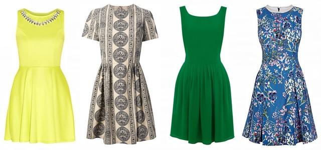 Jaké šaty zvolit letos na jaře  - Skater dress! — LUXURYMAG d81b552dba6
