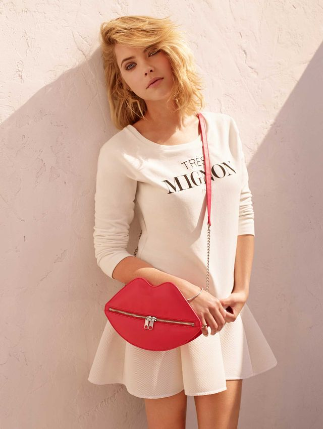 H&M Summer Looks s Ashley Benson (http://www.luxurymag.cz)