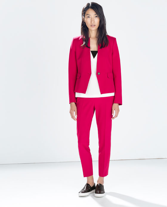 Zara first sample from the collection autumn-winter 2014 (http://www.luxurymag.cz)