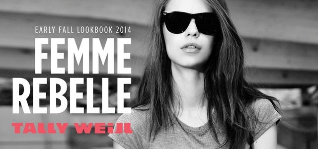 Tally Weijl Early Winter 2014: Femme Rebelle