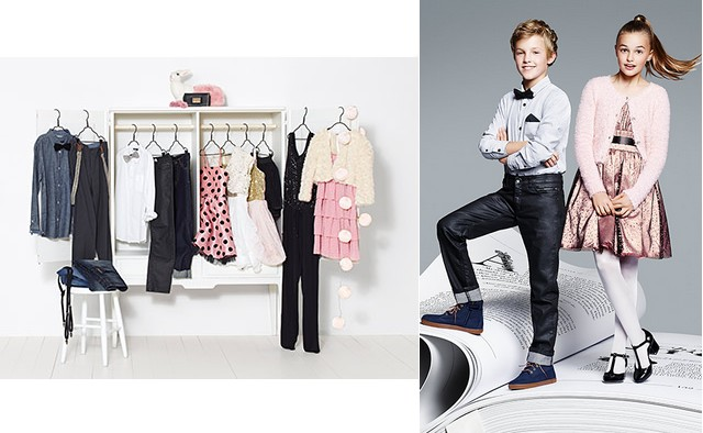 Women's and children's collection Party Perfect by Lindex (http://www.luxurymag.cz)