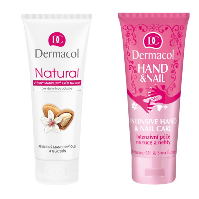 Natural Almond Hand Cream ZA 59 KČ, 100 ML, Hand And Nail Intensive Care 100 ML ZA 89 KČ.