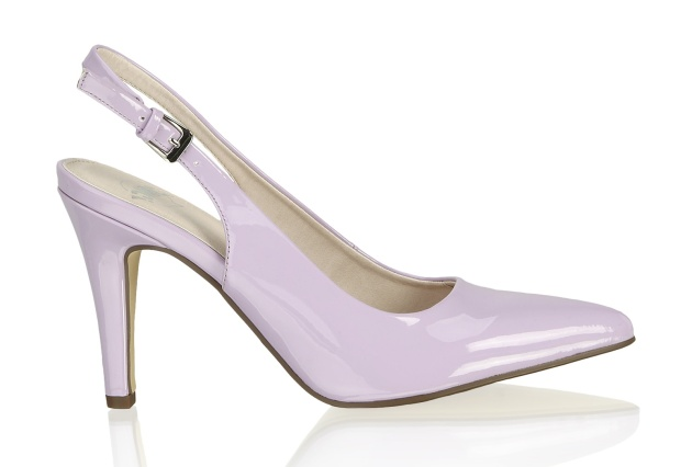 beautiful lilac shoes from OMG !; 699 CZK
