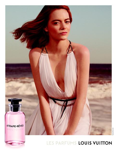 Emma Stone in the campaign