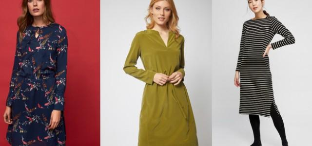 Podzimní ženskost v akci  šaty kam se podíváte — LUXURYMAG a3956c4939e