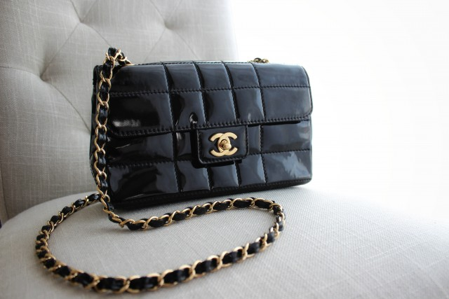 Chanel Vintage Chocolate Flap