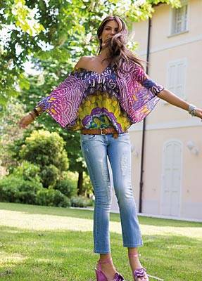 Letní mámení od Denny Rose / letní kolekce oblečení od Denny Rose (www.luxurymag.cz)