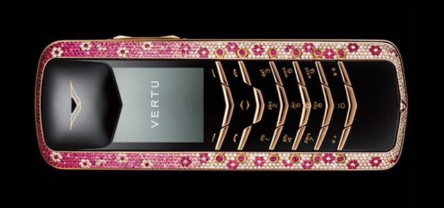 Vertu – mobilní telefony pro miliardáře