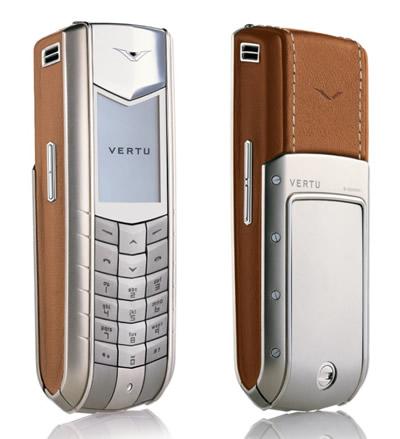 Vertu – mobilní telefony pro miliardáře / Luxusní mobily Vertu (www.luxurymag.cz)