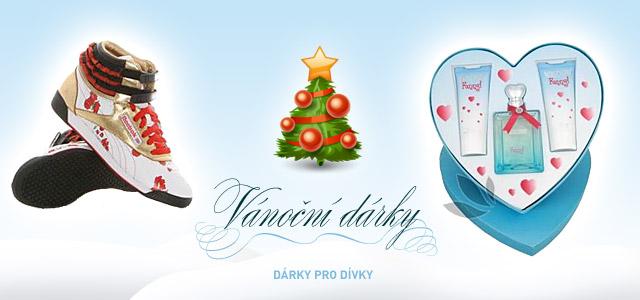 Vánoční dárky pro dívky