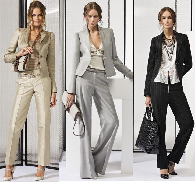 Buďte elegantní v krásném kostýmku! / Elegantní dámské kostýmky (www.luxurymag.cz)