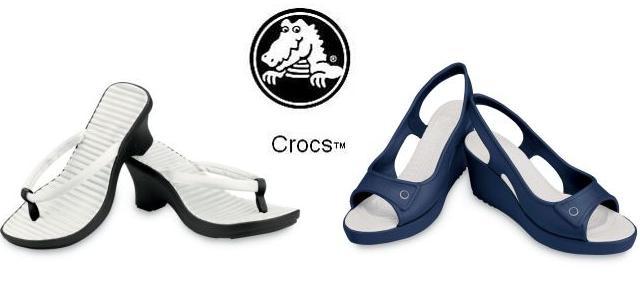 Nová dámská kolekce bot Crocs je tu! / Crocs boty 2009