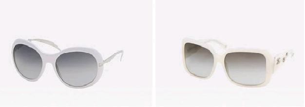 Odraz slunce v brýlích Chanel / Sluneční brýle Chanel (www.luxurymag.cz)