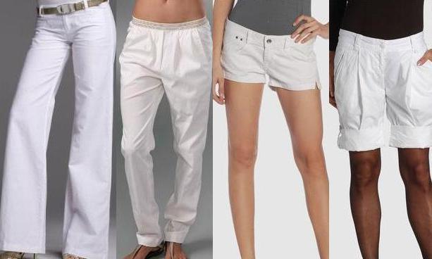 Připravena na léto / Kalhoty a kraťásky pro léto 2009 (www.luxurymag.cz)