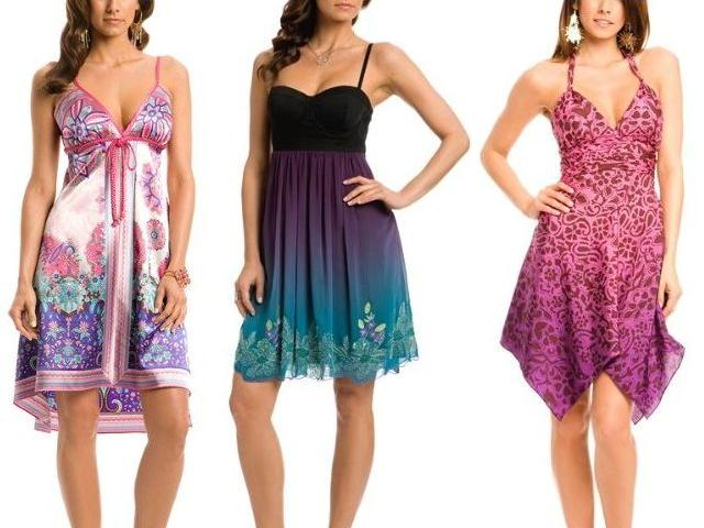 Letní šaty luxusně! / Letní šaty Guess, Dior a Gucci (www.luxurymag.cz)